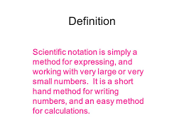 working with scientific notation scientific notation cibrian ppt