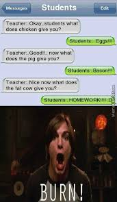 Meme Good Morning - good morning teacher by misteltein meme center