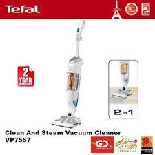 Steam Vaccum Cleaner Qoo10 Tefal Clean And Steam Vacuum Cleaner Vp7557 2 Years