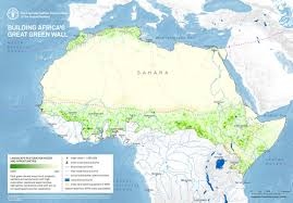 Ethiopia Map Africa by Great Green Wall U0027 Initiative To Combat Climate Change In Africa