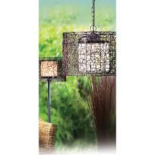 kenroy home 93393brz tanglewood outdoor 1 light pendant in black