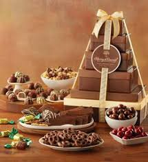 gift towers gift towers food fruit chocolate towers harry david