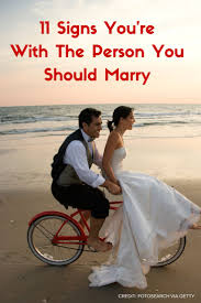 Seeking You Re Not Married 11 Signs You Re With The Person You Should Huffpost