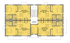 Floor Plans Duplex Building A Single Stair Walk Up Better Cities U0026 Towns Online