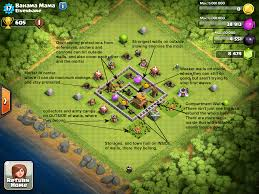 big clash of clans base exle bases clash of clans corner