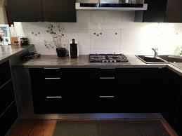 decore cuisine decore de cuisine avec placards en aluminium avec photo decoration