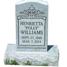 headstone engraving cemetery marker headstone monument engraving included