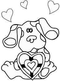 blues clues coloring pages coloring