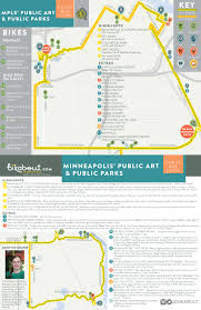 Portland Bike Maps by Minneapolis U0027 Public Art And Public Parks U2014 Bikabout