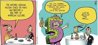 cartoon cinco de mayo la cucaracha it s almost time for cinco de mayo toon pocho