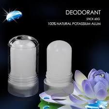alum bar alum block alum antiperspirant deodorant stick