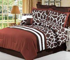 Giraffe Bedding Set Size Giraffe Bedding Set Safari Bedding Pb Pinterest