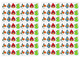 angry birds stickers u2013 birthday printable stickers