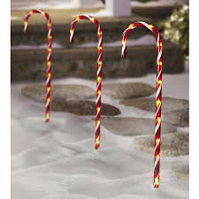 plastic candy canes wholesale lighted candy pathway markers 28 set of 12