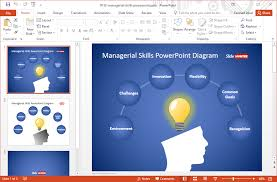 custom design layout powerpoint managerial skills template for powerpoint