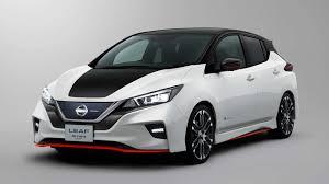 nissan minivan 2018 nissan leaf nismo concept revealed autodevot