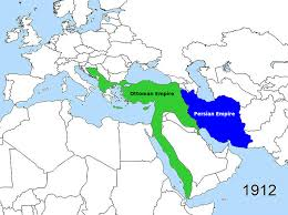 Present Day Ottoman Empire Ottoman And Persian Empires Circa 1812 1 Png
