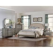 Gray Classic Traditional  Piece King Bedroom Set Albright RC - Rc willey bedroom sets