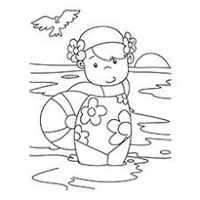 35 free printable summer coloring pages