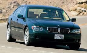 2006 bmw 750 li 2006 bmw 750li comparison tests comparisons car and driver