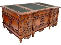 bureau en acajou bureau ambassadeur style anglais acajou caister meuble de style