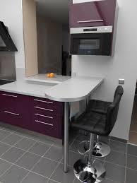cuisine snack photo salle de bain moderne 12 cuisine d233cor aubergine moderne