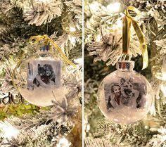 hometalk diy glass photo ornament crafts ornament