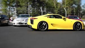 lexus lfa car and driver porsche gt3 cup vs lexus lfa at monticello motor club youtube