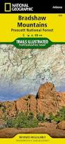 Map Of Prescott Arizona by Bradshaw Mountains Prescott National Forest National Geographic