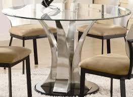 dining room pendant lighting black cushion chairs round glass