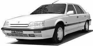 renault 25 baccara 1992 renault r25 partsopen
