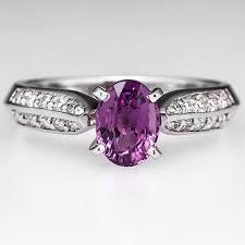 chagne engagement ring color change pink sapphire engagement ring