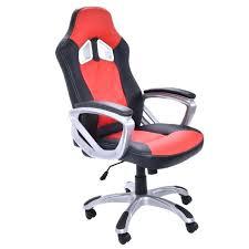 siege de bureau bacquet fauteuil bureau baquet chaise de bureau pu racing siage sport