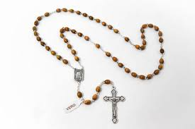 olive wood rosary direct from lourdes olive wood rosary