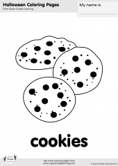 Coloring Pages Resource Type Super Simple Coloring Cookies