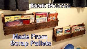 How To Make A Bookshelf Out Of A Pallet Dyi Pallet Book Shelf U0027s From Old Pallets Reclaimed Wood Use