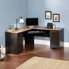Wooden Corner Computer Desks For Home Harbor View Corner Computer Desk 403794 Sauder