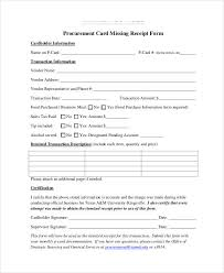 35 receipt forms