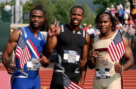Tyson Gay Fails To Qualify for    m Dash   The New York Sun Alamy