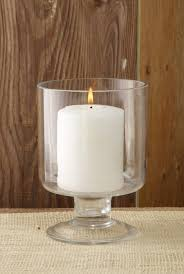 lighting elegant pillar candle holder glass attractive glass
