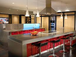 kitchen island modern stainless steel kitchen island small kitchen design grey concrete