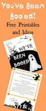 you u0027ve been booed printable and treat ideas