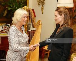 camilla duchess of cornwall hosts a private meeting with angelina