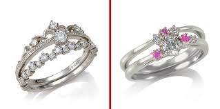 japanese wedding ring disney unveils line of paired engagement wedding rings just in
