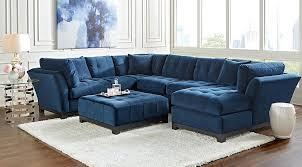 Navy Living Room Furniture Blue Leather Living Room Set Leather Living Room Furniture Sets