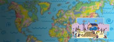 Borderless World Map by Inspirations U2014 April Rinne