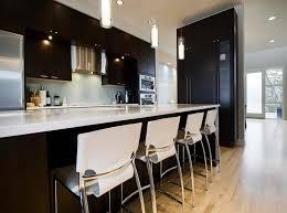 astounding minimalist white kitchen of mini interior apartment