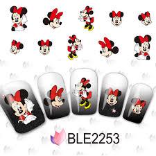 aliexpress com buy 1set 11 designs cartoon water decals nail