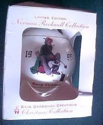 norman rockwell ornaments rockwell s celebration of santa set of 4