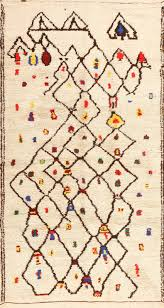 Vintage Moroccan Rug Tribal Colorful Vintage Moroccan Berber Shag Rug 48953 Nazmiyal
